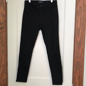 Abercrombie & Fitch High Waisted Black Jeans
